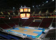Cube Basketball Court / Sport Stadium LED Display 1R1G1B P8 Full color