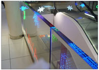 P16 High Transparent LED Display , Outdoor Video Glass Wall working Temperature -10~40℃