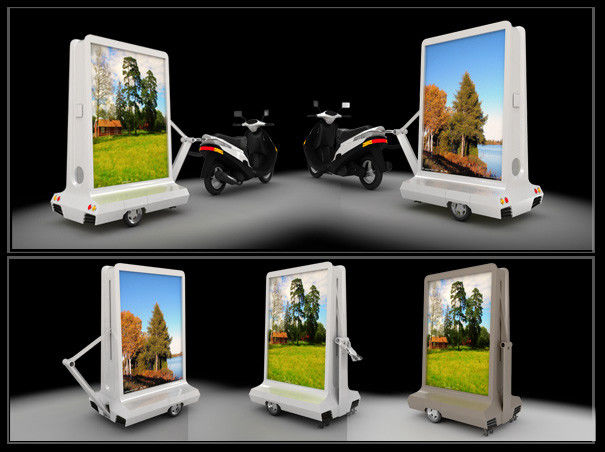 Mobile Taxi LED Display IP65 Waterproof , Motorcycle Moving Message Display
