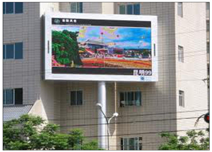 Commercial Advertising LED Video Walls Programmable Full Color with -20 - 50°C Working Temperature