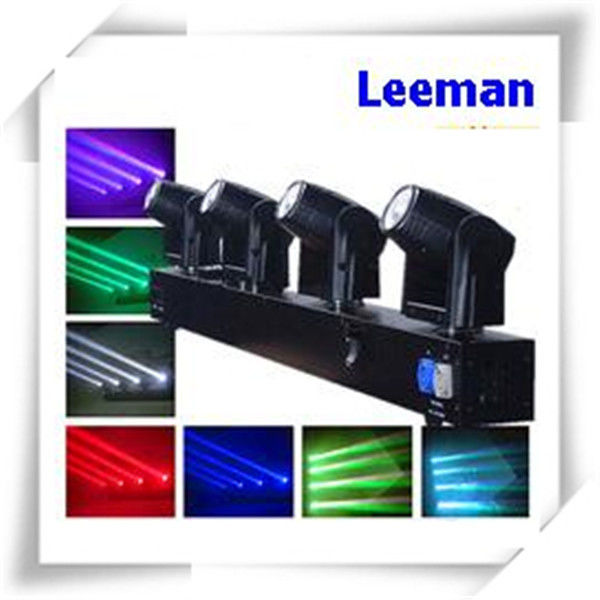 Color Change LED Beam Moving Head Light For Flow Performance / Bars , 4 Head Light